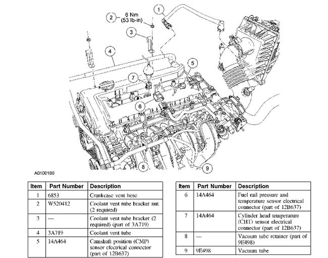 2005 ford escape engine diagram