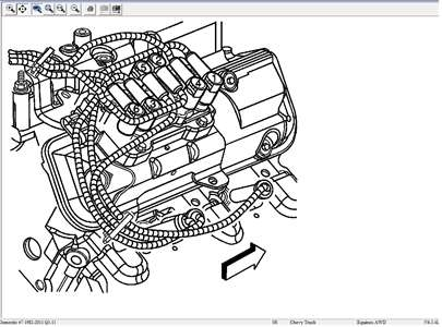 2006 chevy equinox engine diagram | automotive parts ... s10 4 3 plug wire routing