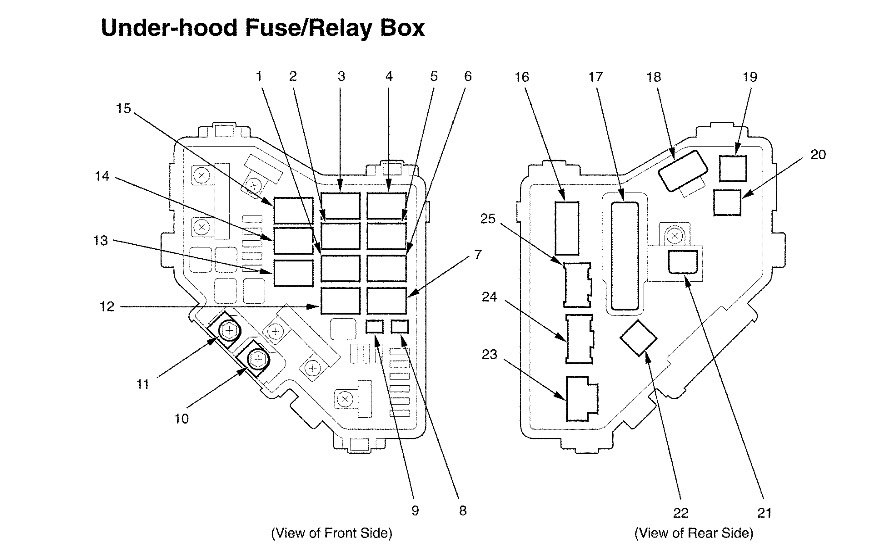 2006 Honda Civic Radiator Fan Relay: I Dont Know Where My Radiator intended for 2006 Honda Civic Engine Diagram