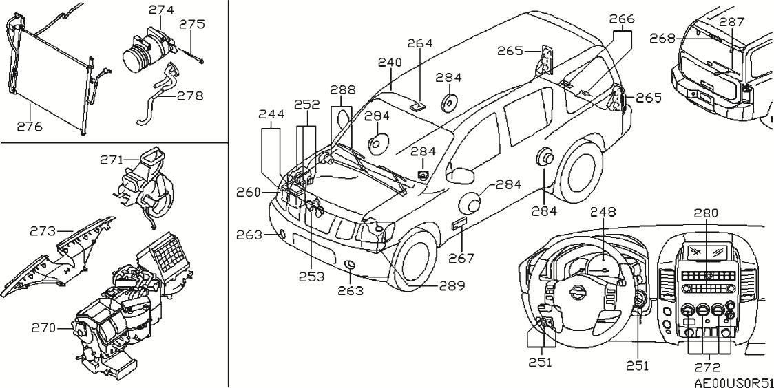 2006 Nissan Pathfinder Engine Diagram