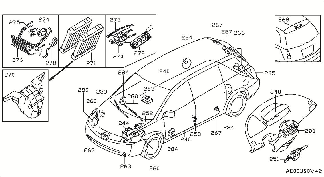 2006 Nissan Quest Oem Parts - Nissan Usa Estore for 2004 Nissan Quest Engine Diagram