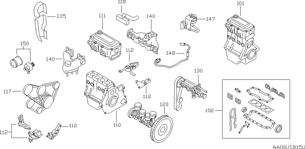 2000 Nissan Sentra Engine Diagram | Automotive Parts ...
