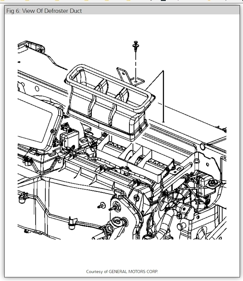 2006 Pontiac Torrent Need To Replace Heater Core in 2006 Pontiac Torrent Engine Diagram