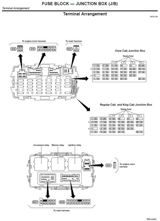 2011 Nissan Altima Fuse Box Diagram - Vehiclepad | 2006 Nissan for 2002 Nissan Altima Engine Diagram