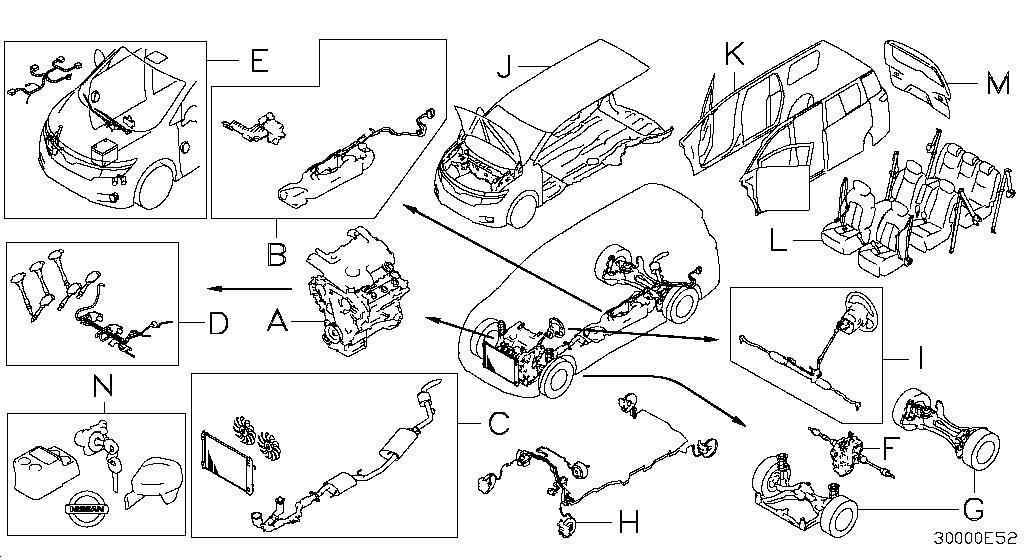 2013 Nissan Quest Oem Parts - Nissan Usa Estore with 2004 Nissan Quest Engine Diagram
