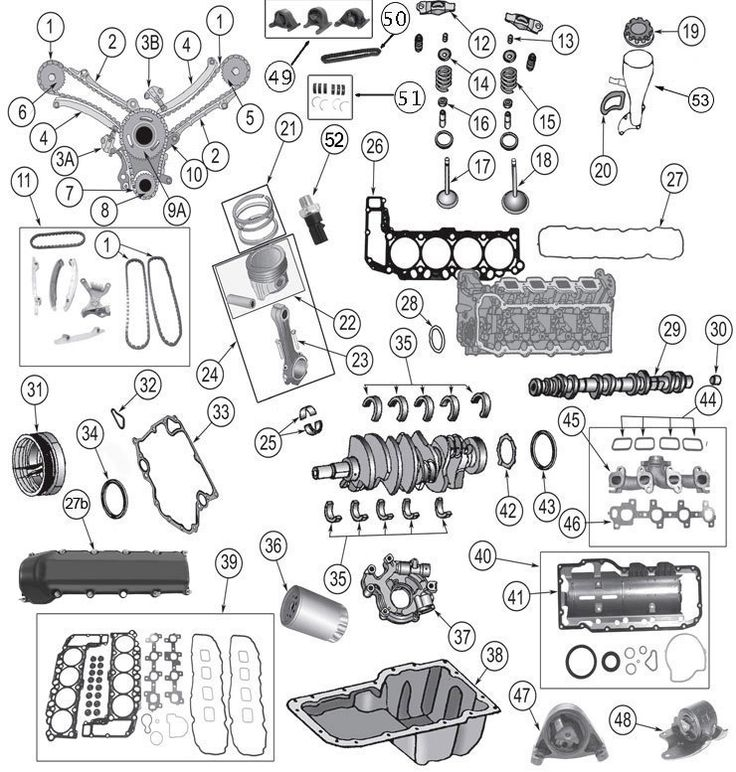 28 Best 99-04 Grand Cherokee Wj Parts Diagrams Images On Pinterest throughout Jeep Grand Cherokee Engine Diagram