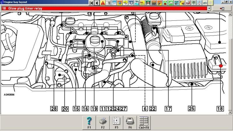 Peugeot hdi engine diagram automotive parts