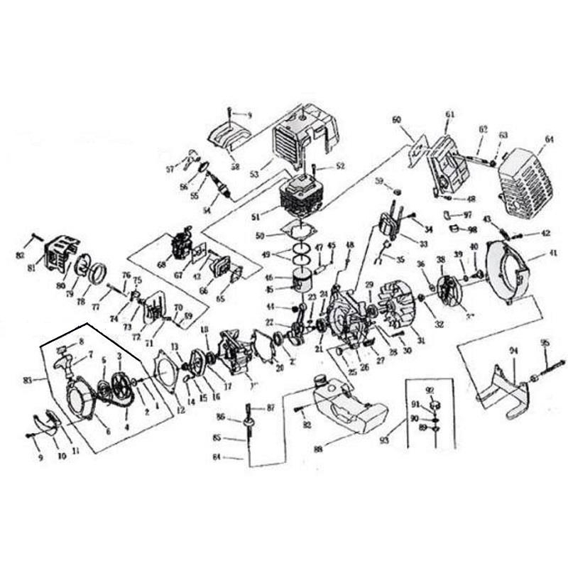 49Cc Engine Diagram Bicycle Engine Wiring Diagram Bicycle Image for 49Cc Pocket Bike Engine Diagram