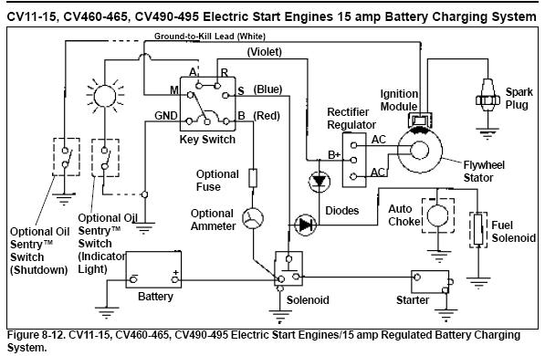 5 prong ignition switch mytractorforum the friendliest regarding kohler engine ignition wiring diagram kohler magnum 18 wiring diagram kohler magnum 18 fuel pump 18hp kohler magnum wiring diagram at crackthecode.co