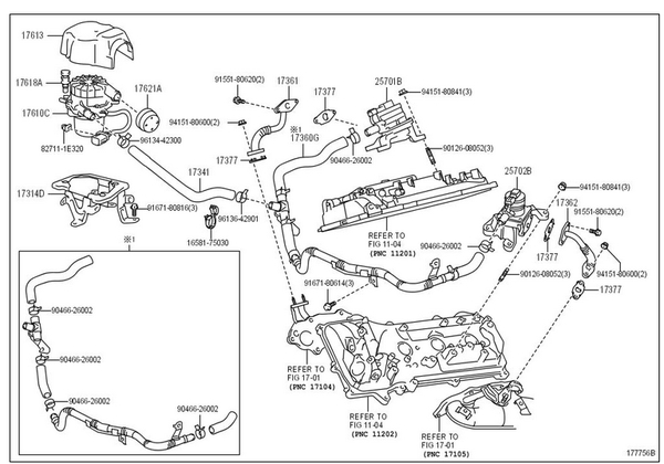 Air Injection Pump. - Toyota 4Runner Forum - Largest 4Runner Forum pertaining to 2000 Toyota 4Runner Engine Diagram
