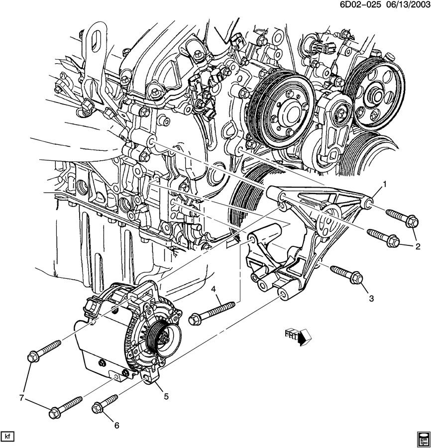 2003 Cadillac Cts    Engine       Diagram      Automotive Parts