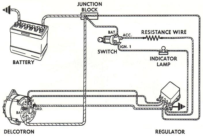 Alternator Wiring Diagrams And Information - Brianesser with regard to Diesel Engine Alternator Wiring Diagram