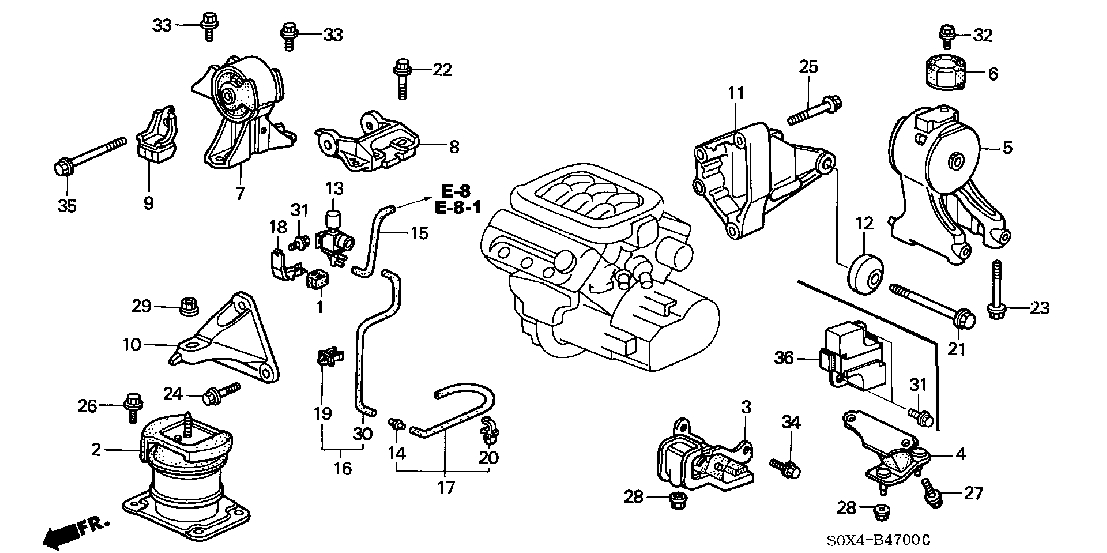 Assitance Before I Replace Engine Mounts? - Page 2 with regard to 2000 Honda Odyssey Engine Diagram