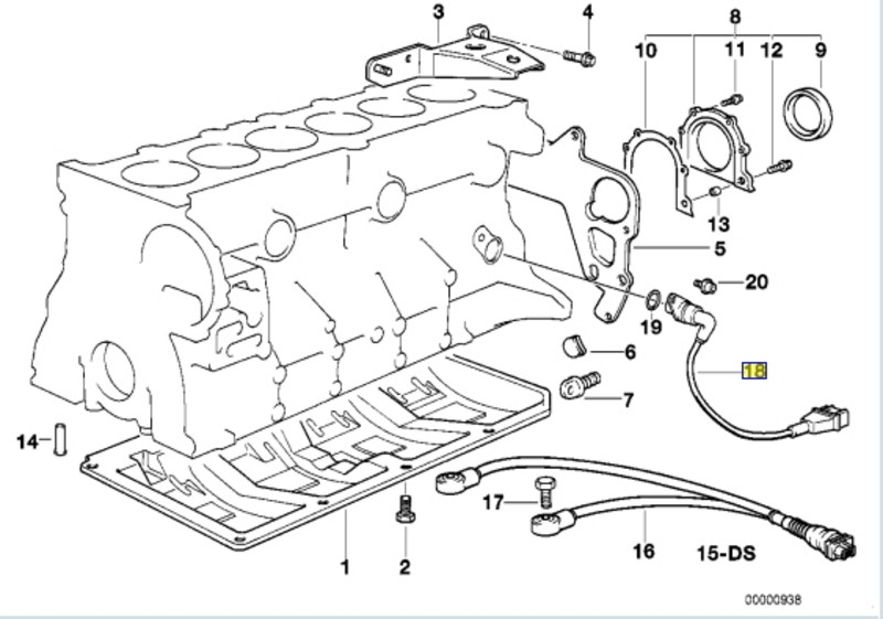 bmw e30e36 crankshaft position sensor replacement 3 series inside 2006 bmw 325i engine diagram 2006 bmw 325i engine diagram automotive parts diagram images 2006 bmw 325i engine diagram at nearapp.co
