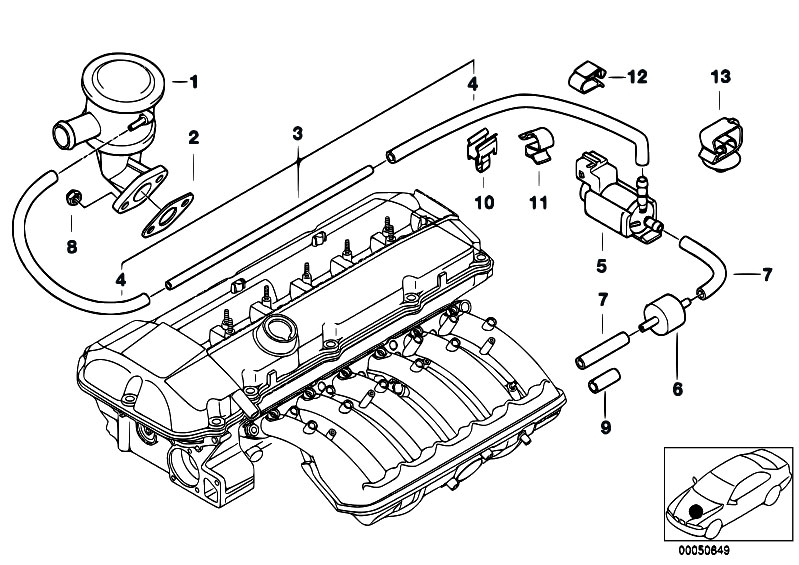 2000 Bmw 328i Engine Diagram