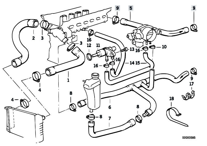 fuse box e46 with Bmw 318i Engine Diagram on Integra Fuel Pump Location as well Showthread moreover E46 Power Steering Location furthermore 1991 Bmw 325i Convertible Radio Antenna furthermore Bmw 318i Engine Diagram.