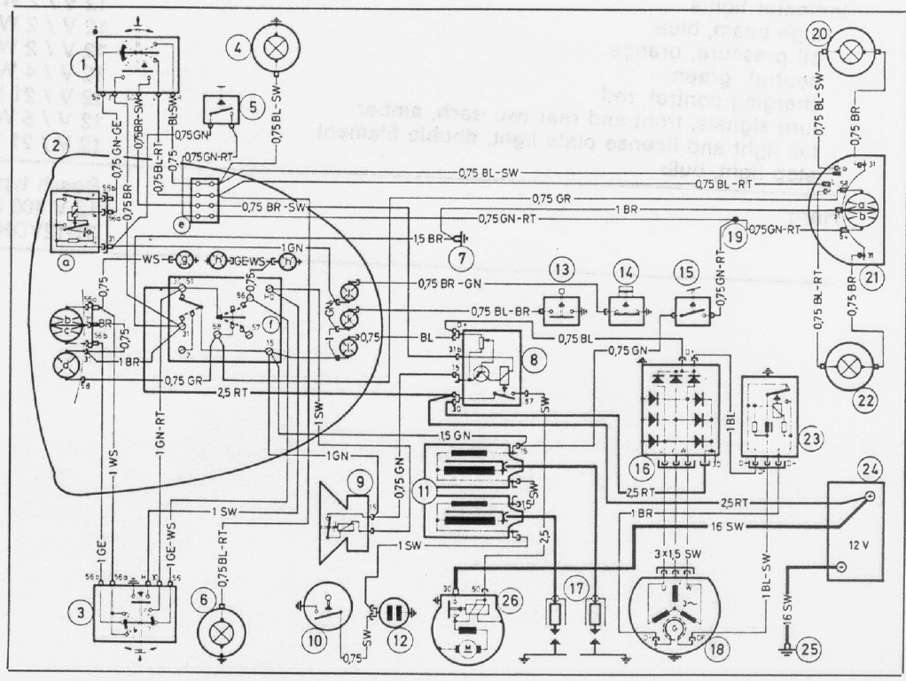 Series Wiring Diagram : Bmw wire diagram e wiring