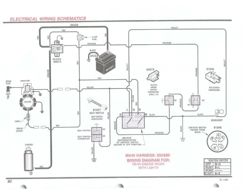 Briggs Engine Wiring Diagram Within Small Engine Ignition Switch Wiring Diagram