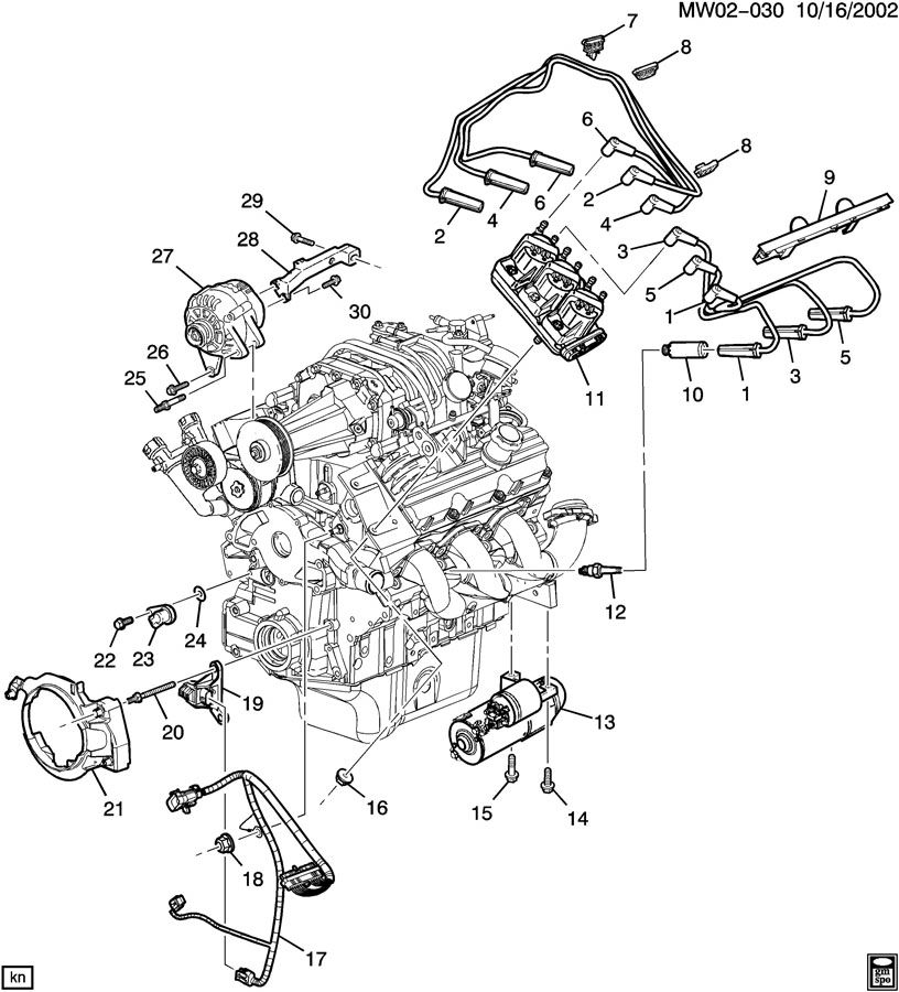 2003 Buick Century Engine Diagram