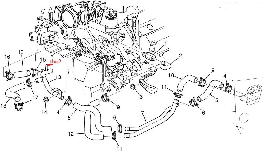 Cadillac Deville Questions - My Cooling Fans Arent Coming On Like regarding 2000 Cadillac Deville Engine Diagram
