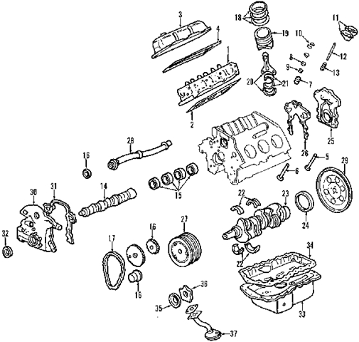 chevy malibu engine diagram 2002 chevy malibu engine diagram | automotive parts ...