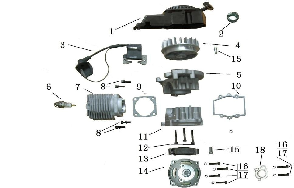Chinese Mini Atv Wiring??? with regard to 49Cc Pocket Bike Engine Diagram