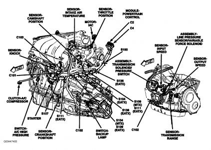 2006 pt cruiser 2 4l engine diagram 2006 pt cruiser engine diagram | automotive parts diagram ...