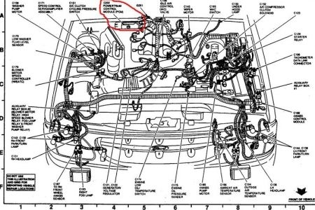 Diagram On A 2005 In Addition 2001 Chevy Impala Engine Parts pertaining to 2001 Chevy Impala Engine Diagram