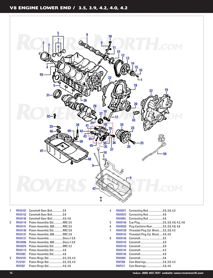 Discovery I V8 Engine Timing - Rovers North - Classic Land Rover Parts for 2003 Land Rover Discovery Engine Diagram