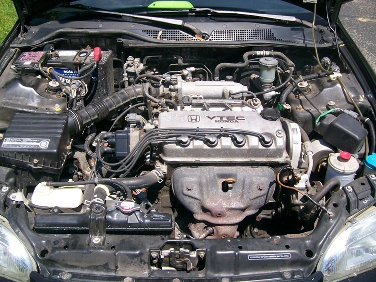 Does Anyone Know Of A Diagram Of A Stock Honda Civic Engine Bay 92 pertaining to 1996 Honda Civic Engine Diagram