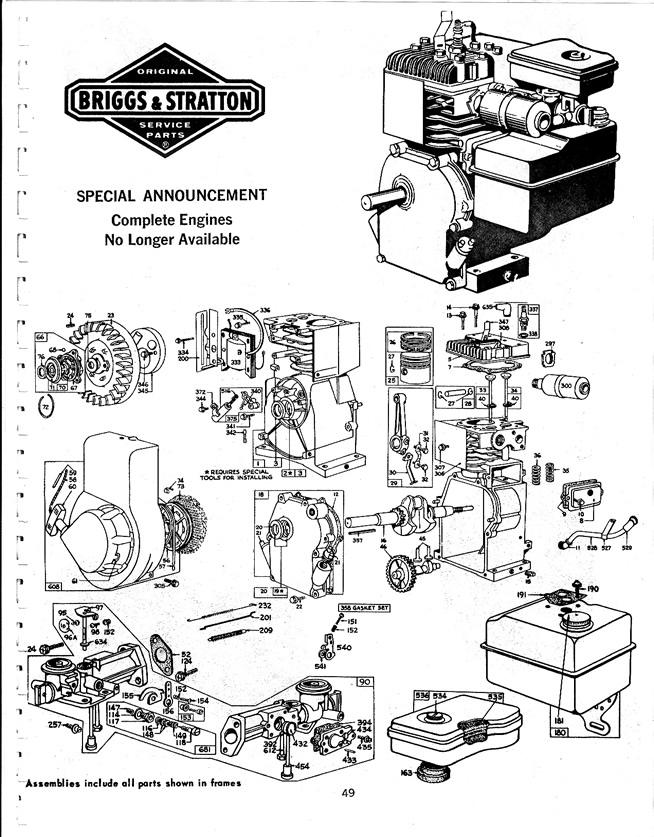 Download Free Briggs And Stratton Old Manual - Hqtracker with Briggs And Stratton Engine Diagram Free