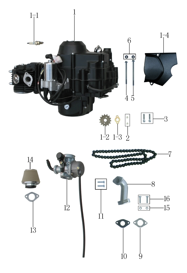 Downloads Page - Atvs In Acadiana (Blaze Powersports And Outdoors in 4 Stroke Dirt Bike Engine Diagram