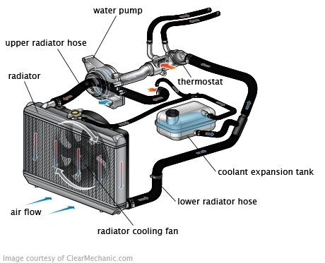 Engine Cooling System in Diagram Of Cooling System For Engine
