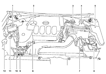 2008 Nissan Sentra Engine Diagram | Automotive Parts ...