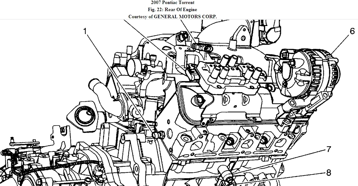 2006 Pontiac Torrent Engine Diagram