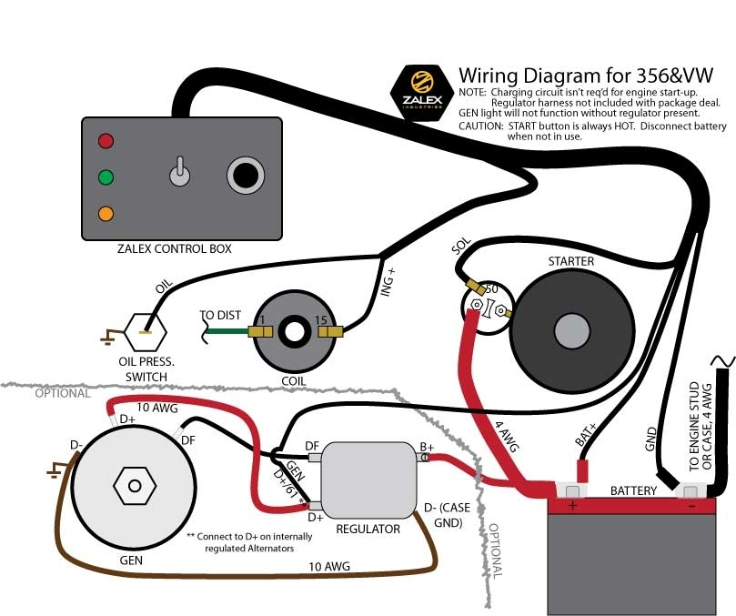 Engine Test Stand For Air-Cooled Porsche And Vw throughout Engine Test Stand Wiring Diagram