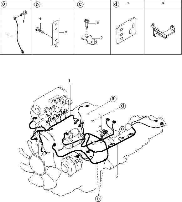 2000 Kia Sportage Engine Diagram