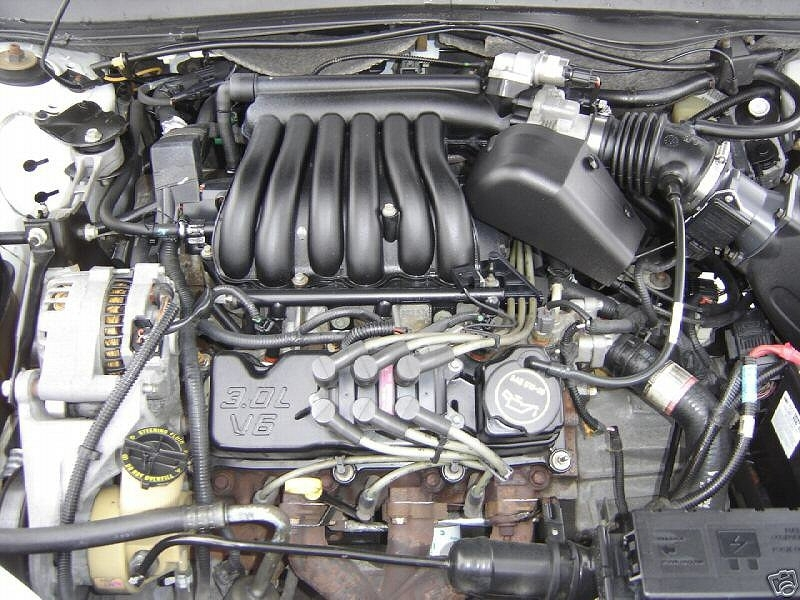 Engines | Taurus/sable Encyclopedia intended for 2001 Mercury Sable Engine Diagram
