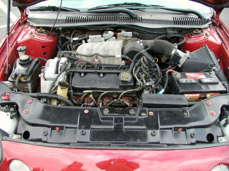 Engines | Taurus/sable Encyclopedia with regard to 1998 Ford Taurus Engine Diagram
