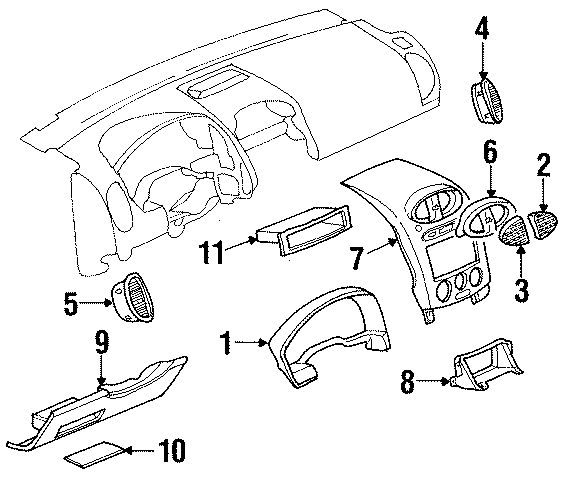 2002 saturn vue serpentine belt diagram