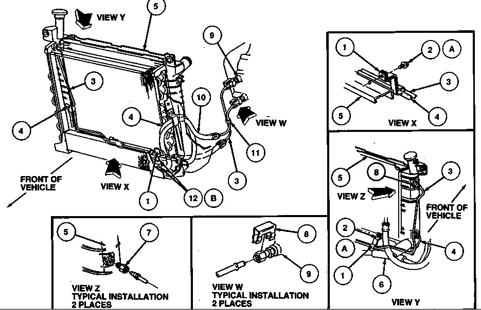1996 ford taurus engine diagram