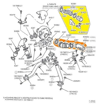 7 3 engine diagram ford 7 3 engine parts diagram