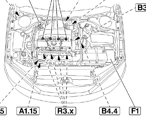 Ford Engine Diagram Ford Flex Engine Diagram Ford Wiring Diagrams with regard to 2000 Ford Focus Engine Diagram