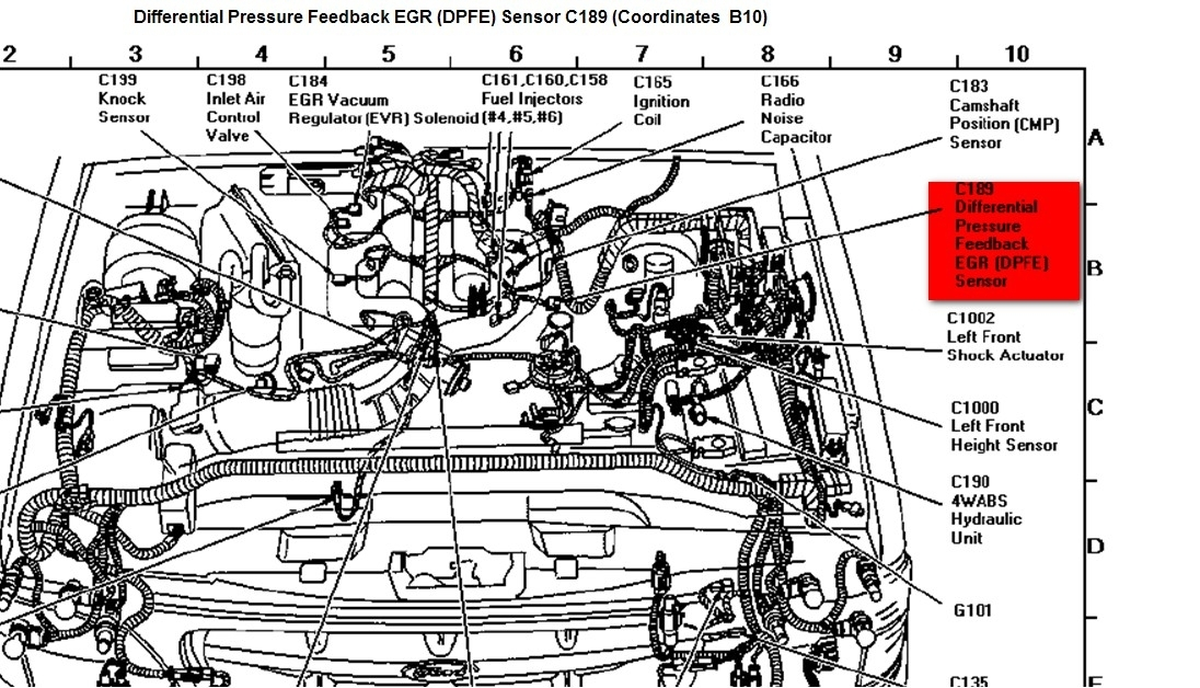 1986 ford 4 9 engine diagram 1996 ford explorer engine diagram automotive parts 1996 f150 4 9 engine diagram