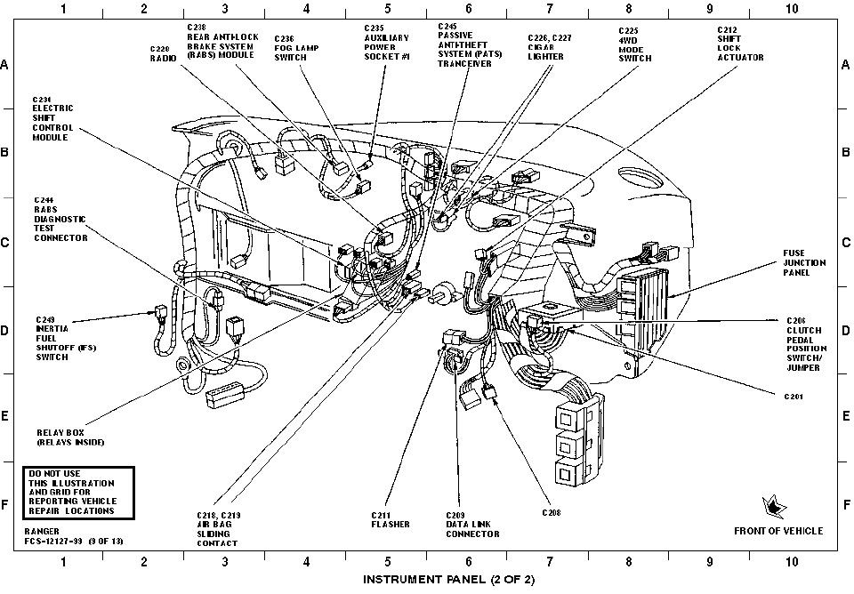 Ford Explorer Questions - Is There A Relay Under The Dash For The throughout 1999 Ford Explorer Engine Diagram