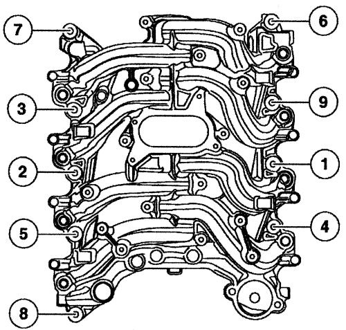 Ford F-150 Questions - 1999 F 150 Need Intake Manifold Vacuum with Ford F150 4.6 Engine Diagram