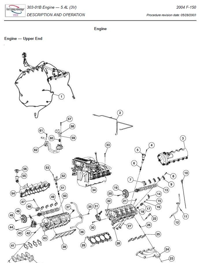 Ford F150 2004-2008 Repair Manual | Factory Manual intended for 2004 Ford F150 Engine Diagram