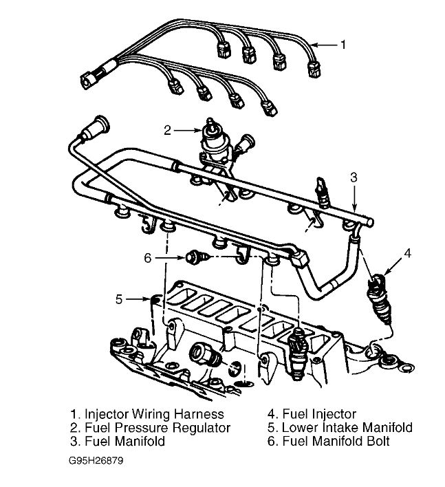 Ford F150 4.2 V6 Manual Transmission Is The Firing Order 1-4-2-5-3 regarding 1999 Ford F150 Engine Diagram