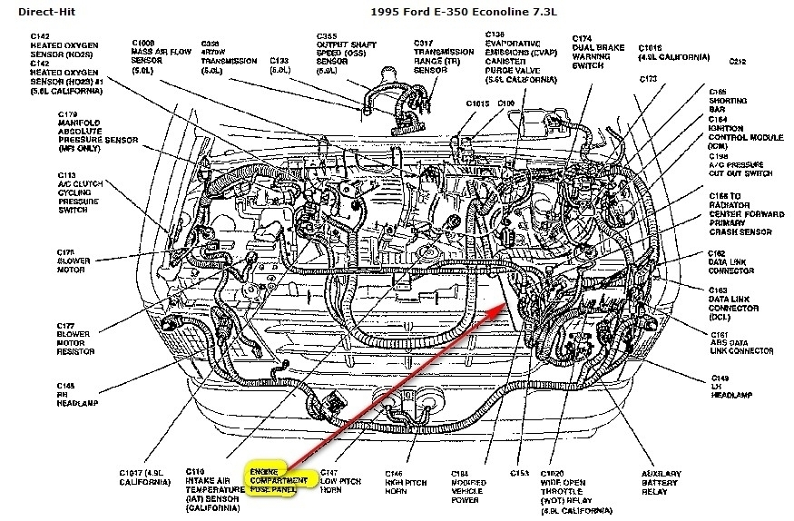 2006 ford focus engine diagram