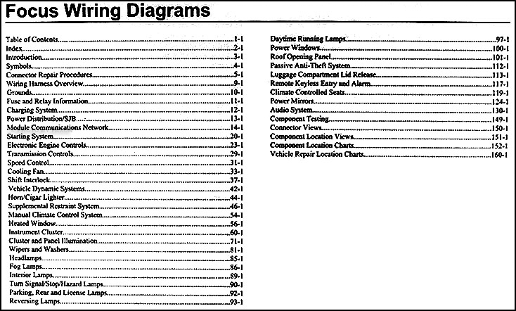 Ford Focus Wiring Diagrams. Ford. Free Wiring Diagrams pertaining to 2002 Ford Focus Engine Diagram
